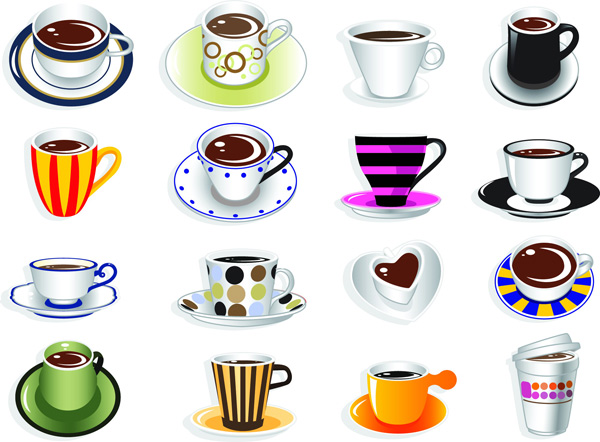Cute Coffee Cup Vector Graphic Vector Food Free Download