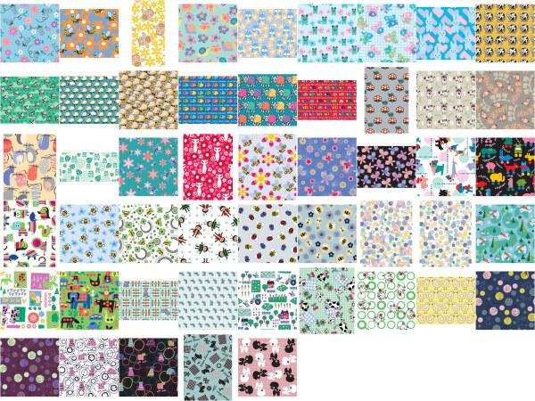 Lovely pattern background 1