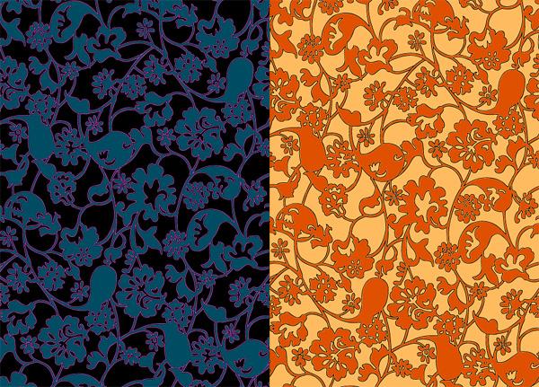 Stroke decorative pattern background