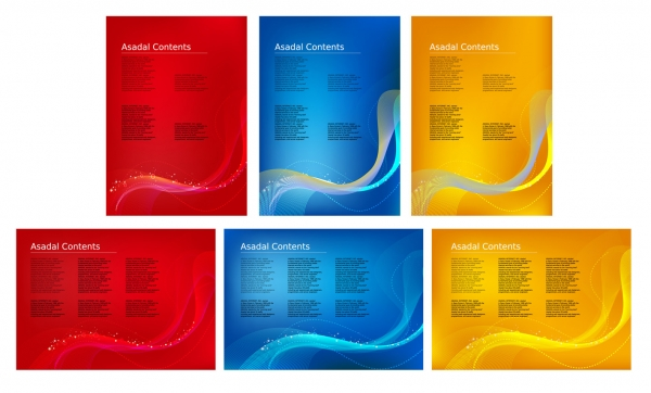 Exhibition Dynamic Technology backgrounds Vector