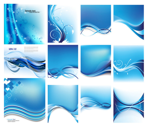 Blue dynamic lines background vector art over millions vectors blue dynamic lines background vector art toneelgroepblik Gallery