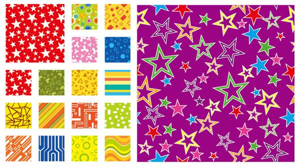 colors elements background vector