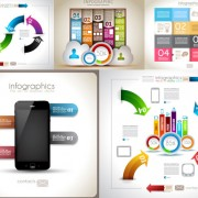 Link toInformation graphic design elements vector
