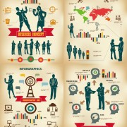 Link toCommercial information graph vector graphic