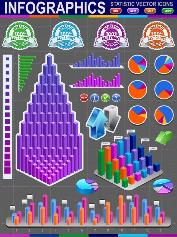 Information statistics icon 02