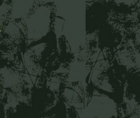 Decorative pattern and grunge background vector