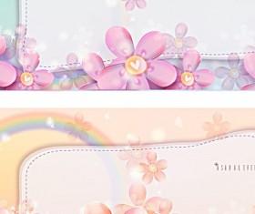Beautiful background Decorative pattern vector