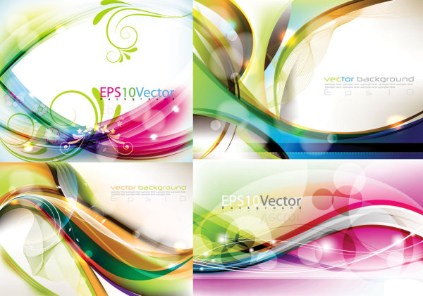 Abstract colored dynamic background 1