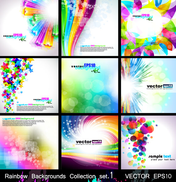 Magic Abstract colored background 2 vector Graphic