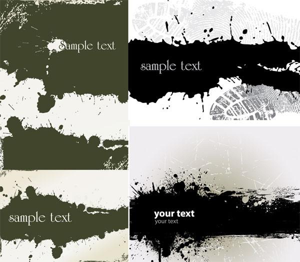 Decadent background Vector graphic