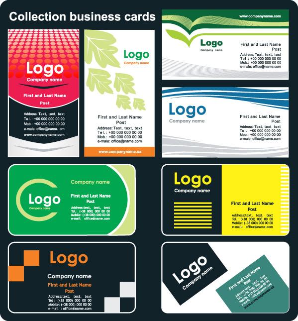 Card template 02 Vector