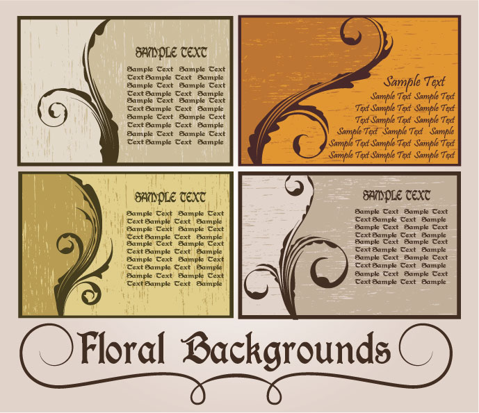 Nostalgia Floral card art