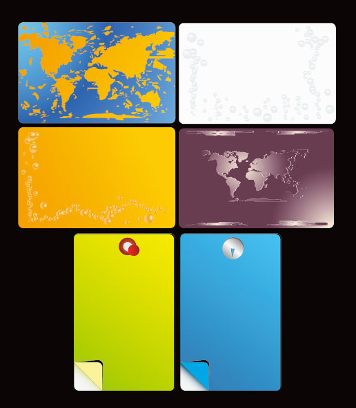 different card background vector graphic free download