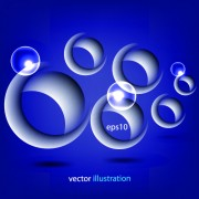 Link to3d circle vector background 03