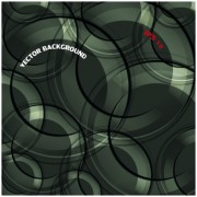 Link to3d circle vector background 04