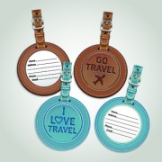 Link toColored leather tags design vector 02