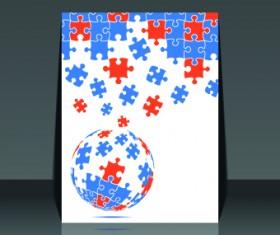 Business brochure design cover 02