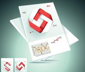 Business brochure design cover 07