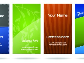 Huge collection of Business card design vector art 01