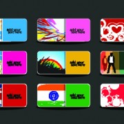 Link toHuge collection of business card design vector art 02
