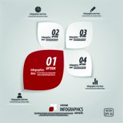 Link toCreative infographic with number design vector 03