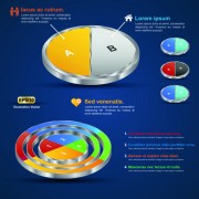 Link toCreative 3d infographic design vector 01