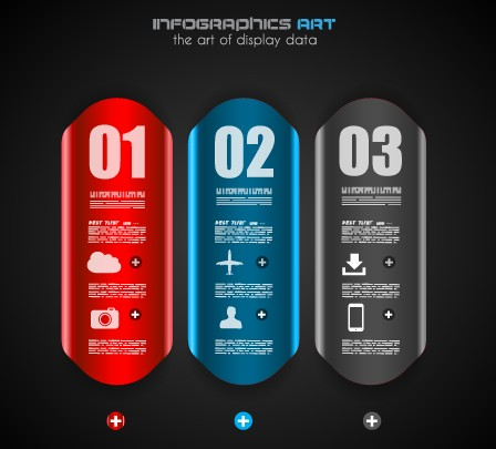 Creative Business Infographic vector 08