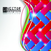 Link toColorful square vector background art 04