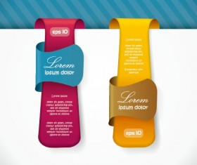 Special offer sale labels stickers vector 01
