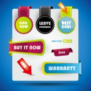 Link toSpecial offer sale labels stickers vector 03