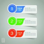 Link toColored sticker label design vector 02