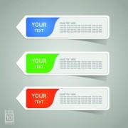 Link toColored sticker label design vector 03