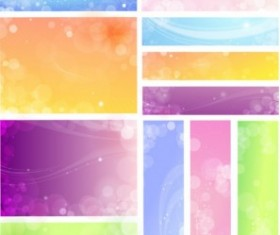 flowery backgrounds 02 vector