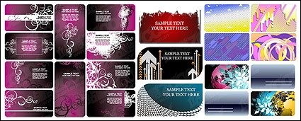 card template background material