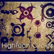Link toHightech circles photoshop brushes
