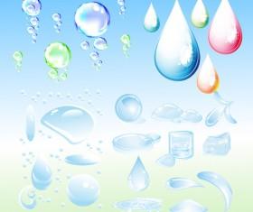 Vesicular droplets drops