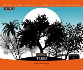 TREES PROMO PACK  Photoshop Brushes
