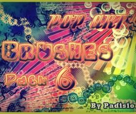Pop Brushes   Photoshop Brushes