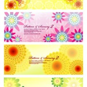 Link toColorful flowers background