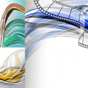 Link toFashion dynamic lines background art vector graphic