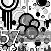 Link to57 free set of vector photoshop brushes