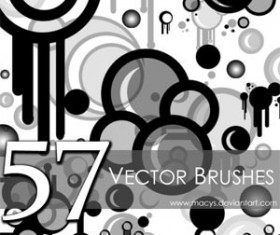 57 Free Set of vector Photoshop Brushes