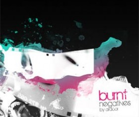 Burnt Negatives Photoshop Brushes
