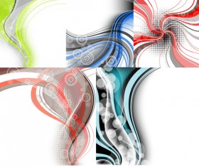 The dynamic lines of the background 2 design elements