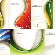 Link toThe dynamic lines of the background art vector