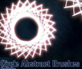 Circle Abstract Photoshop Brushes