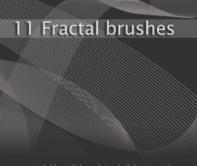 Fractals Photoshop Brushes