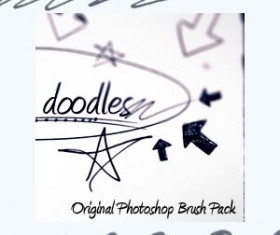 Creative Doodles Photoshop Brushes