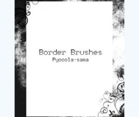 Border Brushes for Photoshop