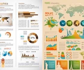 Data chart vector art